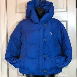 Abercrombie Cropped Down Puffer Jacket